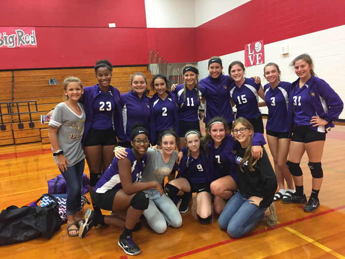 8th grade Volleyball A Team