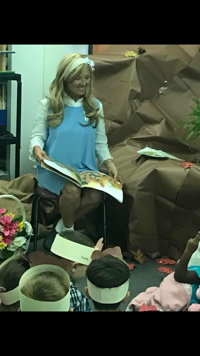 Goldilocks guest reader