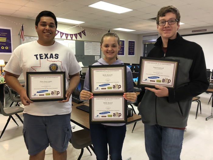 Texas State IT Symposium Winners