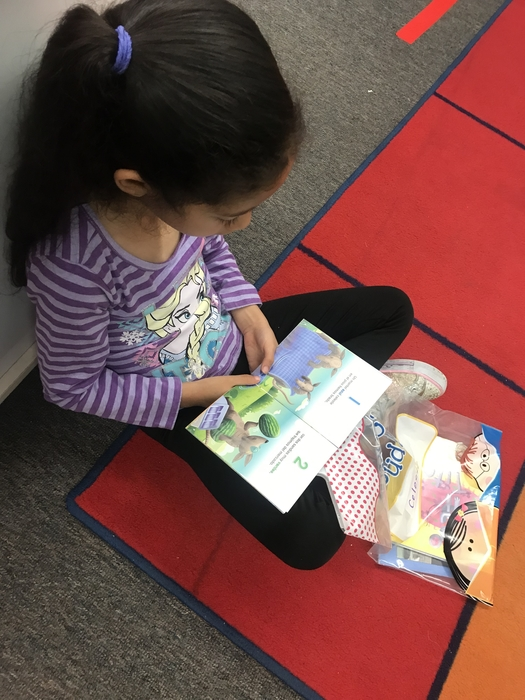 PreK growing readers!