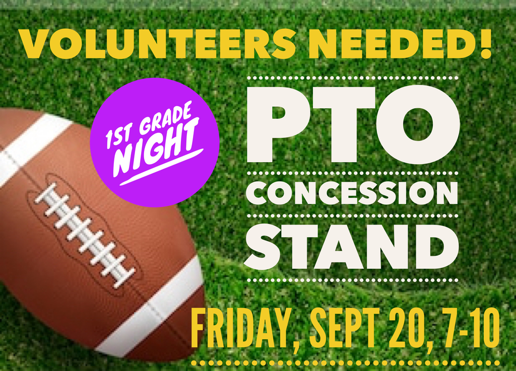 Visitors' Side Concession Stand Fundraiser