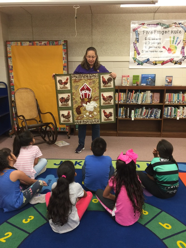 Quilts in the Library!