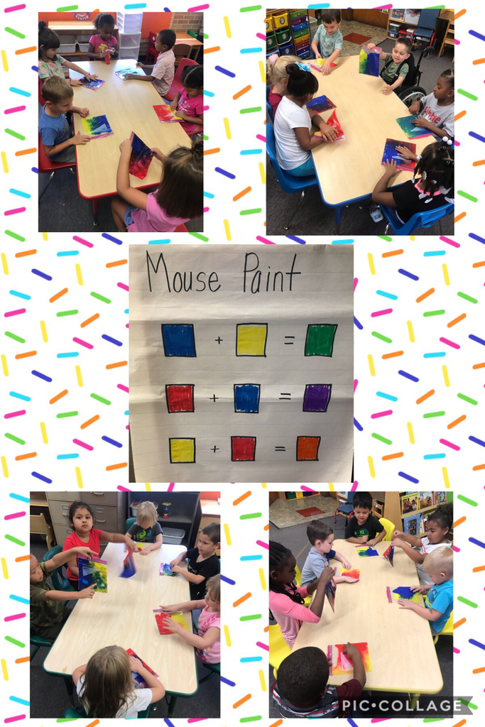Color mixing fun!