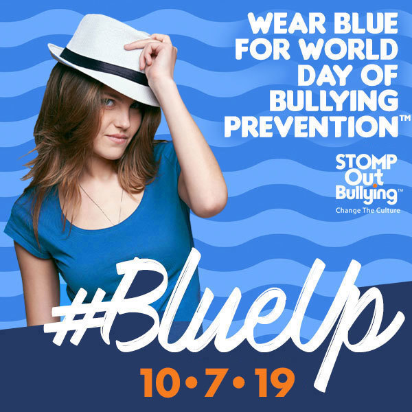 Blue Up for Anti-Bullying 10/07/19