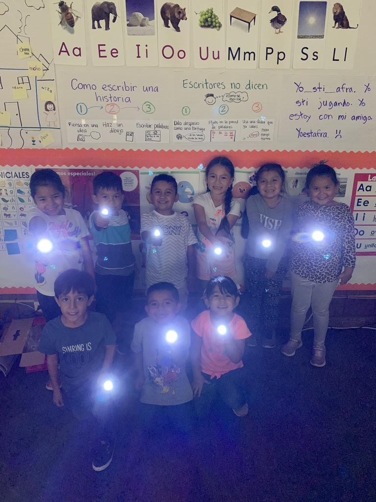 We are scientists! We got to spend science experimenting with light, creating shadows and using our imaginations.
