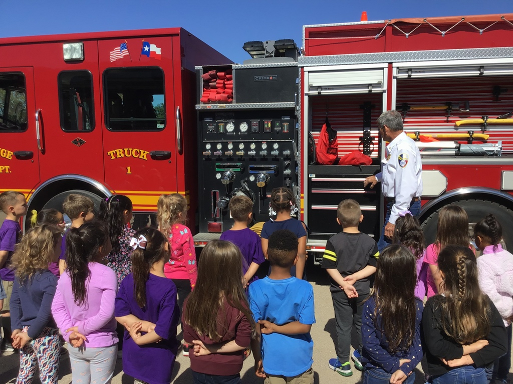LG Fire Department - thank you for visiting today!