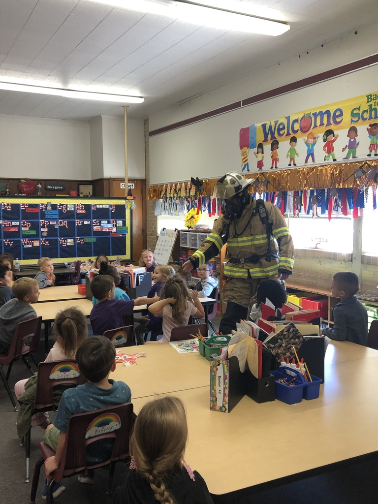 Fire Prevention Week in kindergarten!
