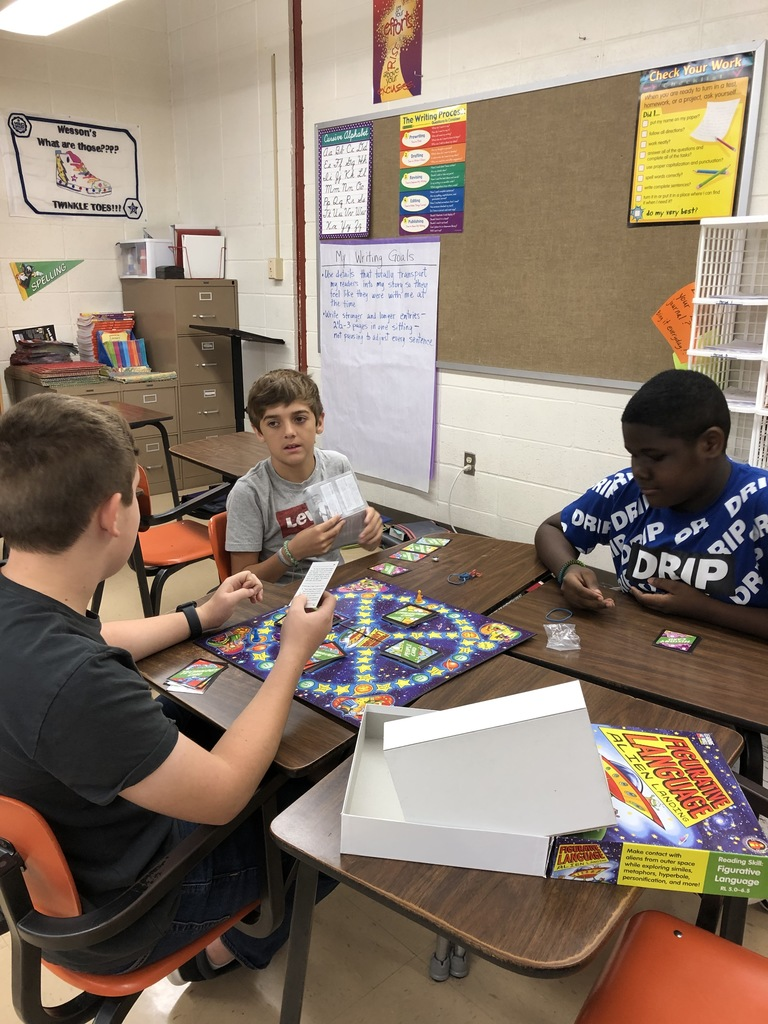 Enrichment Time.....learning in game format. :)