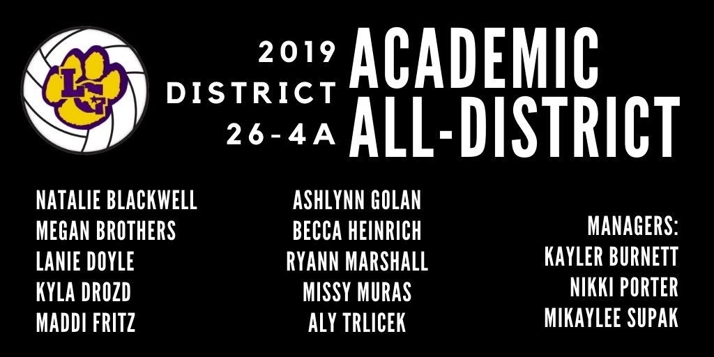 Academic all-district