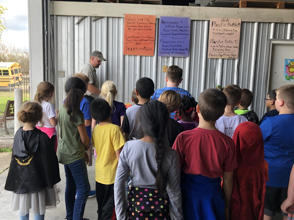 Fayette County Recycle Center - 2nd grade