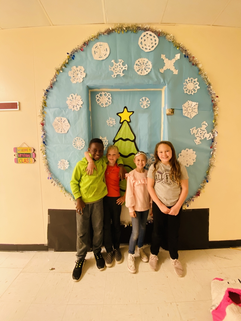 Mrs. Pietsch's door decorators!