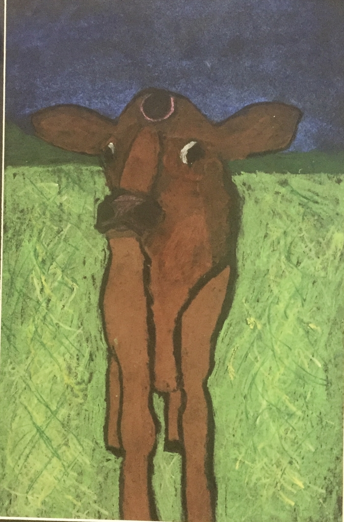 "Best of Show: ""Grazin' Solo"" by Mitchell Cervantez(4th grade)"