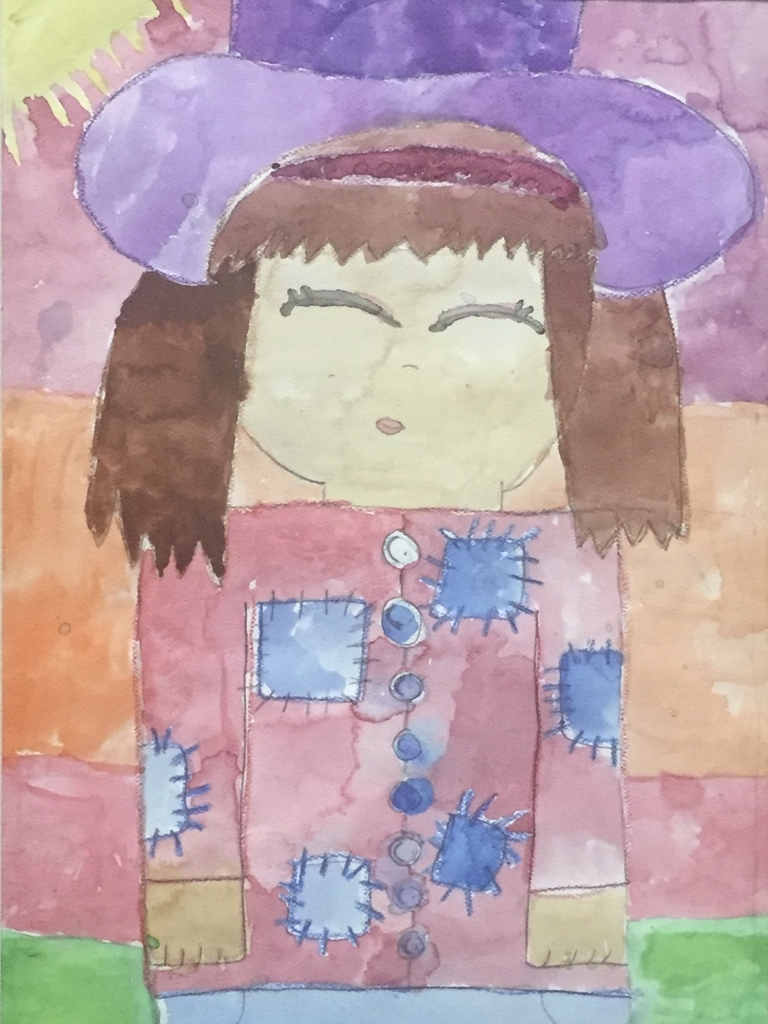 "Gold Medal: ""Patches"" by Sidnee Britton(3rd grade)"