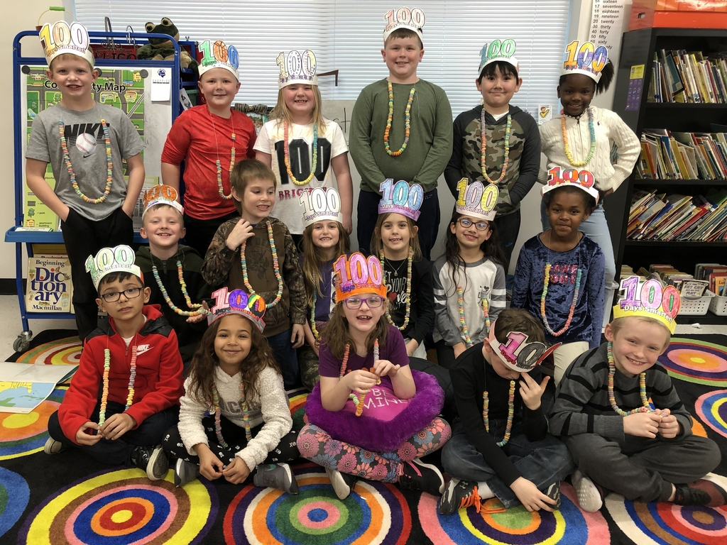 Celebrating 100 days of school...