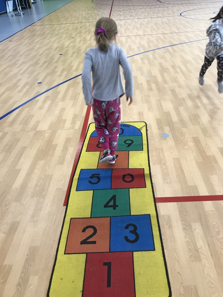 Hopscotch and number identification