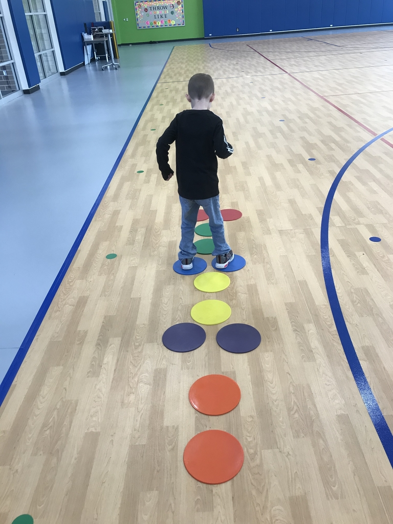 Hopscotch and color identification