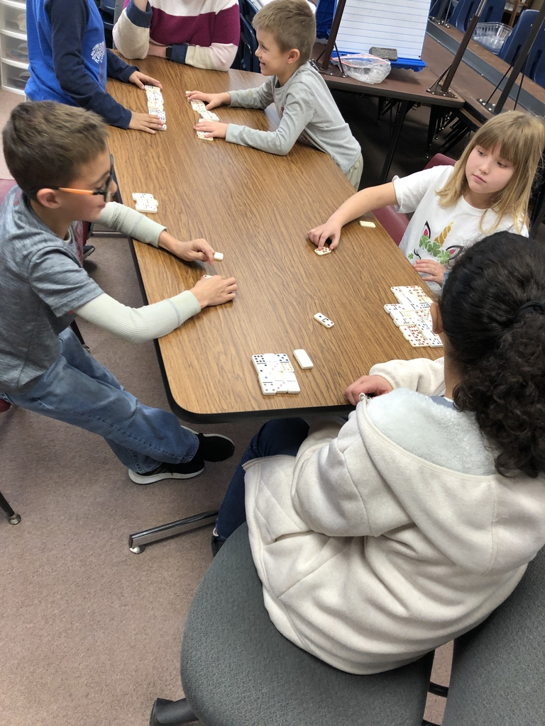 It was war in Mrs. Novak's room- Domino War!