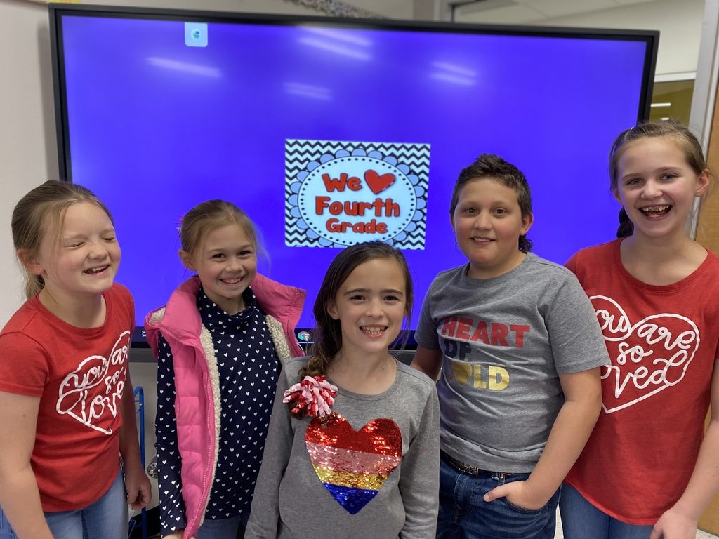 4th grade Valentine's Day fun!