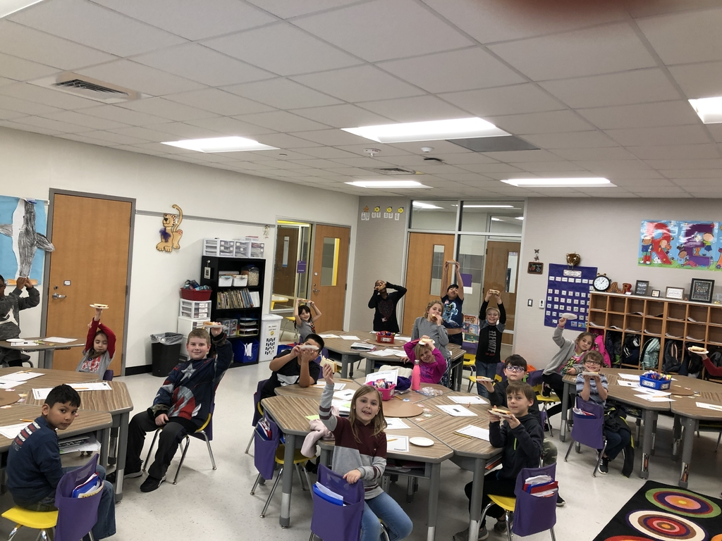 Mrs. Rohde's class is learning about procedural text with peanut butter and jelly.