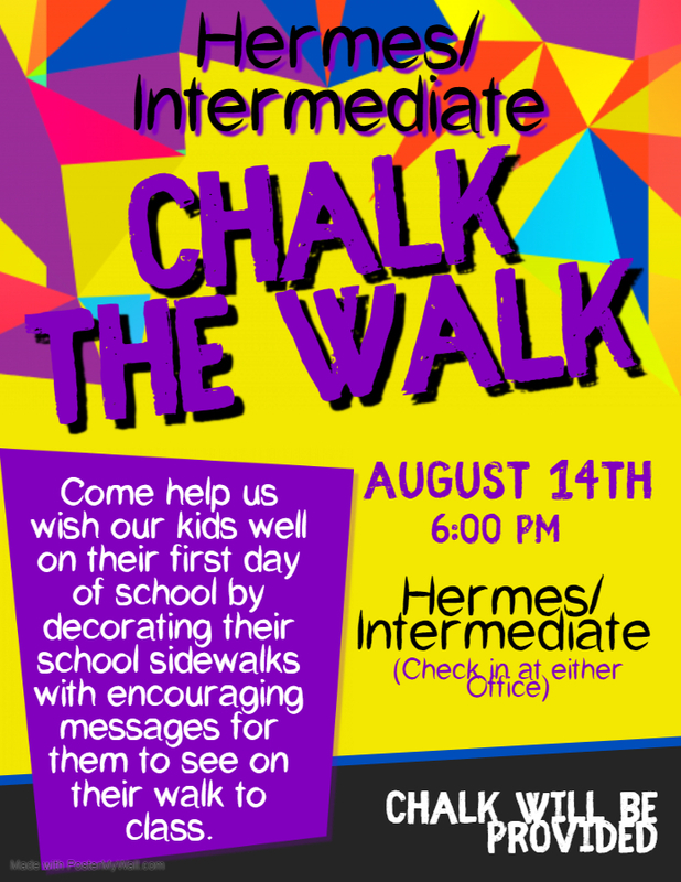 Chalk The Walk Event